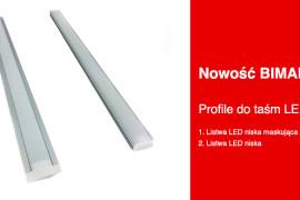 Nowość Bimak – Profile dotaśm LED